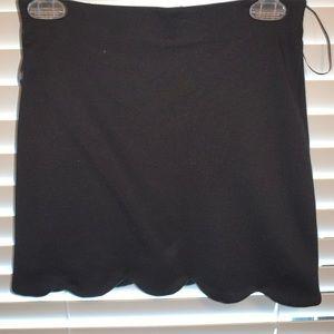 Topshop black skirt